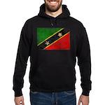 Saint Kitts Nevis Flag Hoodie (dark)