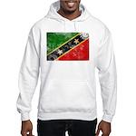 Saint Kitts Nevis Flag Hooded Sweatshirt