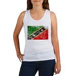 Saint Kitts Nevis Flag Women's Tank Top