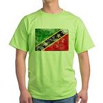 Saint Kitts Nevis Flag Green T-Shirt