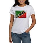 Saint Kitts Nevis Flag Women's T-Shirt