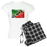 Saint Kitts Nevis Flag Women's Light Pajamas