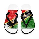 Saint Kitts Nevis Flag Flip Flops