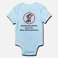 Never drink and derive Infant Bodysuit