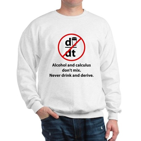 Never drink and derive Sweatshirt