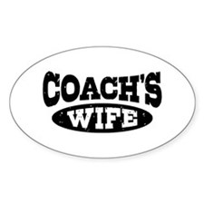 Coach's Wife Decal