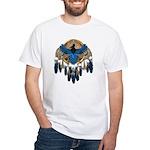 Steller's Jay Dreamcatcher Mandala White T-Shirt