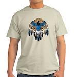 Steller's Jay Dreamcatcher Mandala Light T-Shirt