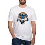 Steller's Jay Dreamcatcher Mandala Fitted T-Shirt