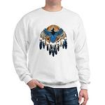 Steller's Jay Dreamcatcher Mandala Sweatshirt