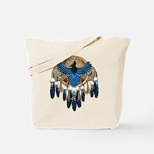 Steller's Jay Dreamcatcher Mandala Tote Bag