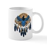 Steller's Jay Dreamcatcher Mandala Mug