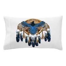 Steller's Jay Dreamcatcher Mandala Pillow Case
