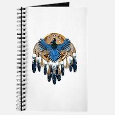 Steller's Jay Dreamcatcher Mandala Journal