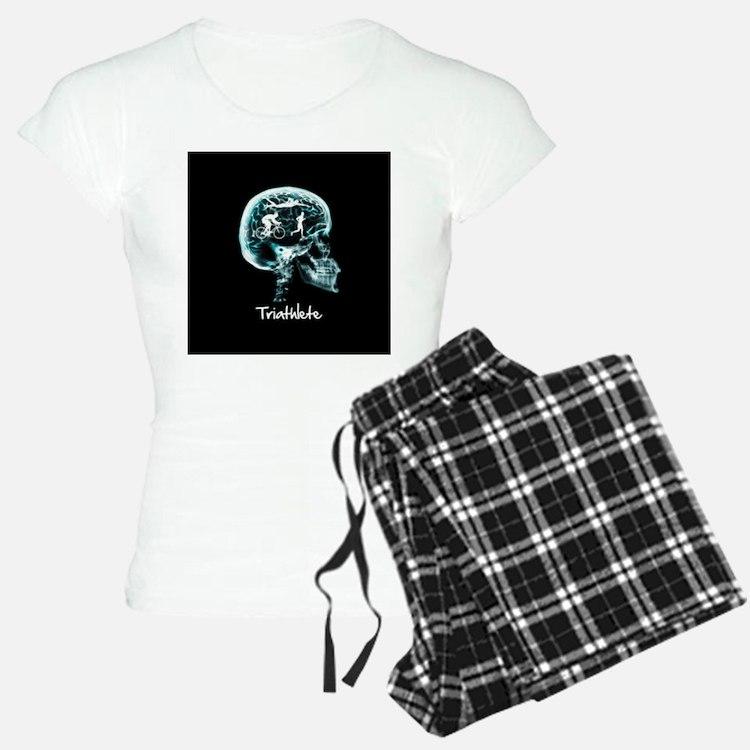 x-ray man triathlete Pajamas