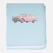 1955 Pontiac Catalina baby blanket