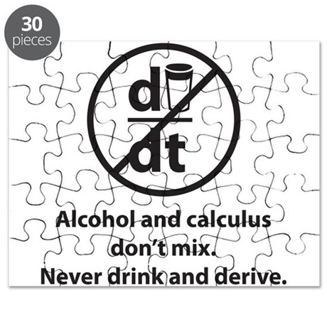 Never drink and derive Puzzle