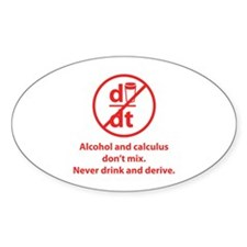 Never drink and derive Decal