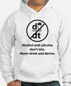 Never drink and derive Hoodie