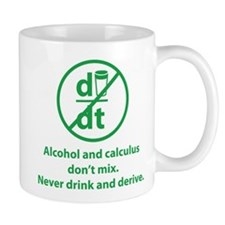 Never drink and derive Mug