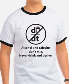 Never drink and derive T