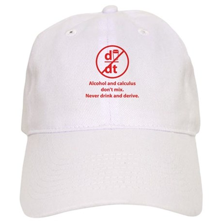 Never drink and derive Cap