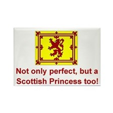 Perfect Scottish Princess Rectangle Magnet