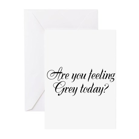 Grey section Greeting Cards (Pk of 10)