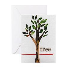 Arbor Day Tree Greeting Card