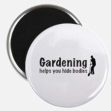 "Gardening 2.25"" Magnet (10 pack)"
