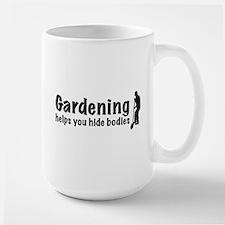 Gardening Large Mug