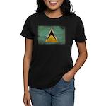 Saint Lucia Flag Women's Dark T-Shirt