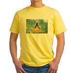 Saint Lucia Flag Yellow T-Shirt