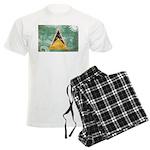 Saint Lucia Flag Men's Light Pajamas