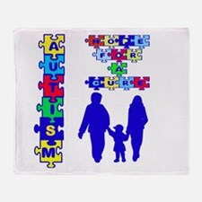 Autism Throw Blanket