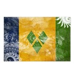 Saint Vincent Flag Postcards (Package of 8)