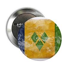 """Saint Vincent Flag 2.25"""" Button (10 pack)"""