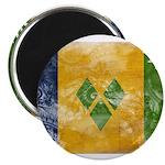 Saint Vincent Flag Magnet