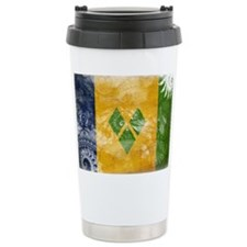 Saint Vincent Flag Travel Mug