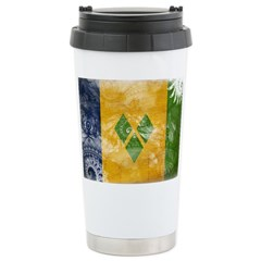 Saint Vincent Flag Travel Mug