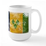 Saint Vincent Flag Large Mug