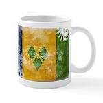 Saint Vincent Flag Mug