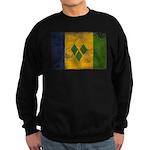 Saint Vincent Flag Sweatshirt (dark)