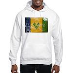 Saint Vincent Flag Hooded Sweatshirt