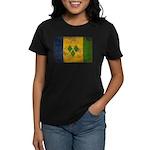 Saint Vincent Flag Women's Dark T-Shirt