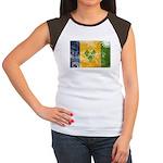 Saint Vincent Flag Women's Cap Sleeve T-Shirt