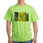 Saint Vincent Flag Green T-Shirt