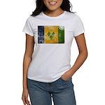 Saint Vincent Flag Women's T-Shirt