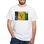 Saint Vincent Flag White T-Shirt