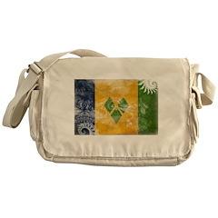 Saint Vincent Flag Messenger Bag